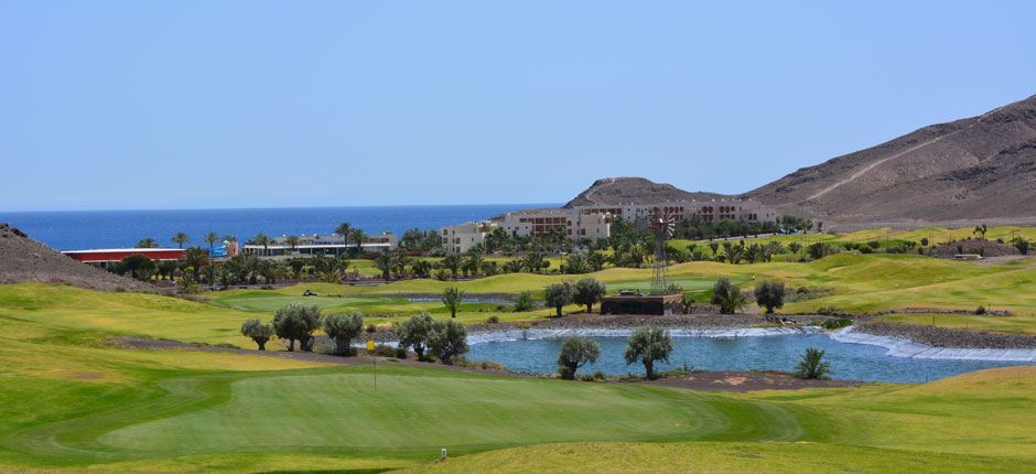 Playitas Golf Club Fuerteventuran golfkentät